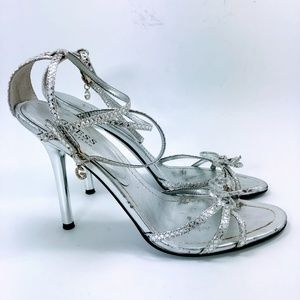 Guess by Marciano Hopeful Sandals - Silver 10